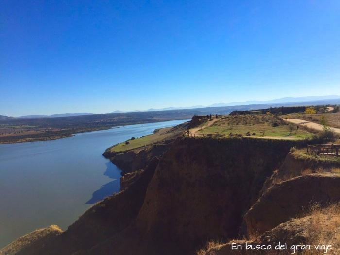 Vistas de las Barrancas desde la Senda E