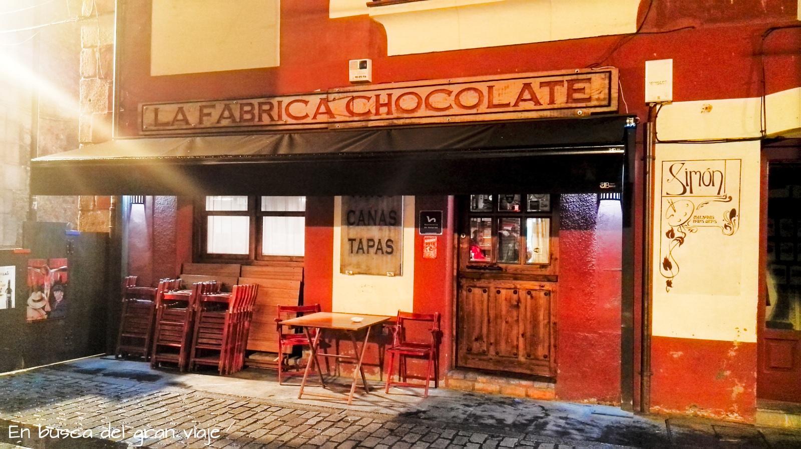 Fachada de la Fábrica de chocolate