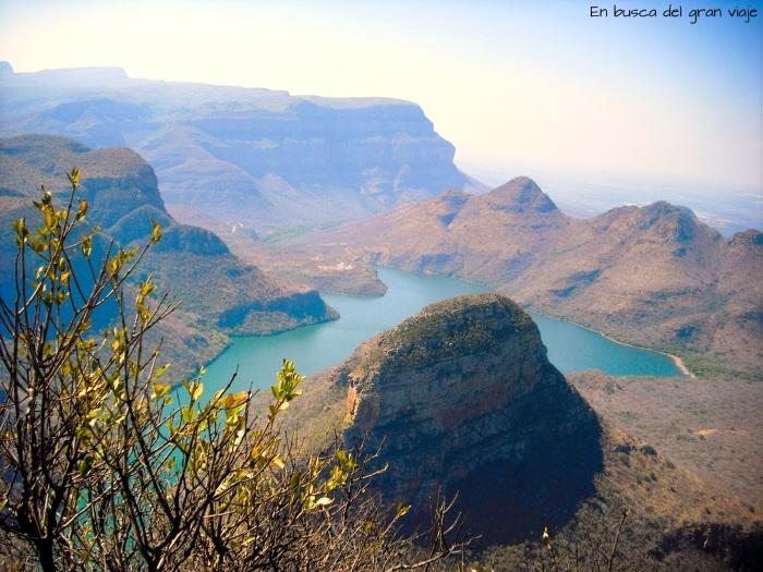 Vistas del Canyon del río Bly