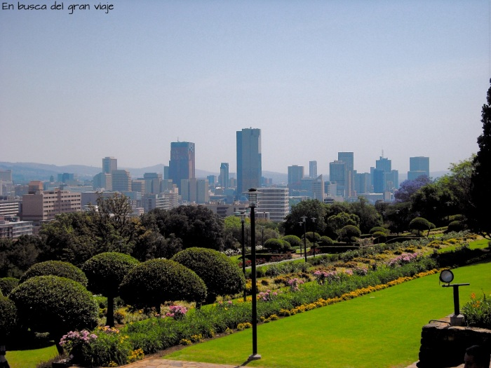 Vista panorámica de Pretoria con