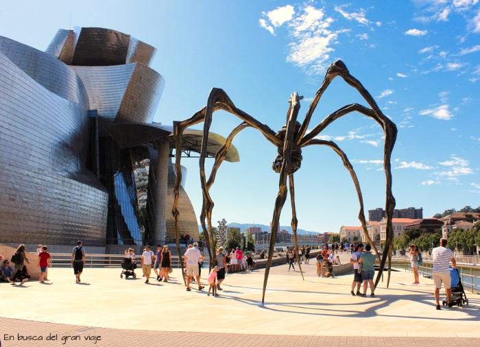 La araña Mamá y el Museo del Guggenheim