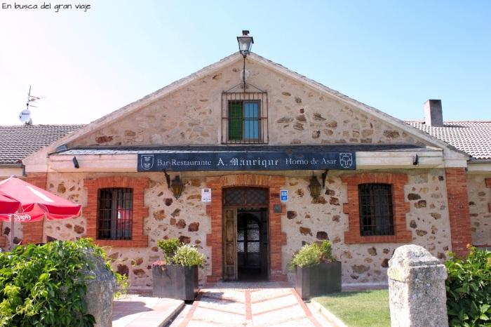 Fachada del Restaurante A. Manrique