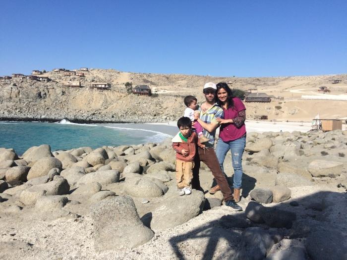 BAHIA INGLESA, CHILE 2016 (donde decidimos iniciar este proyecto)