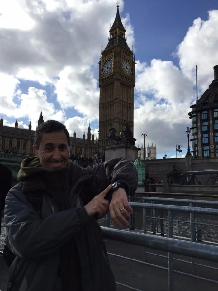 Dani en el Big Ben
