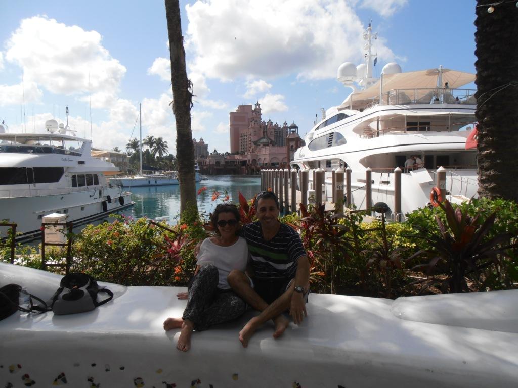Majo y Dani disfrutando del sol de las