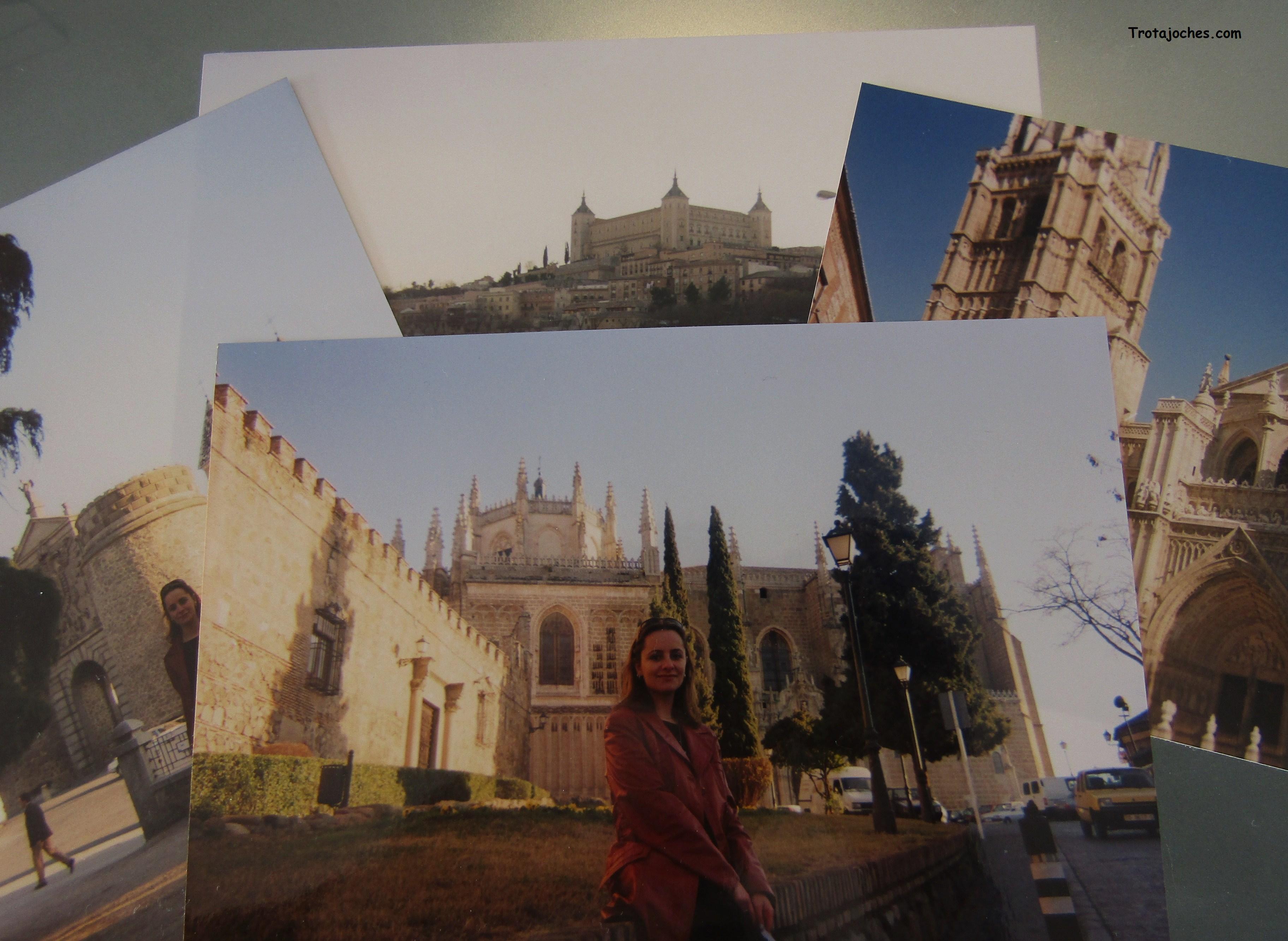 Alicia en la ciudad de Toledo en varias fotos reveladas