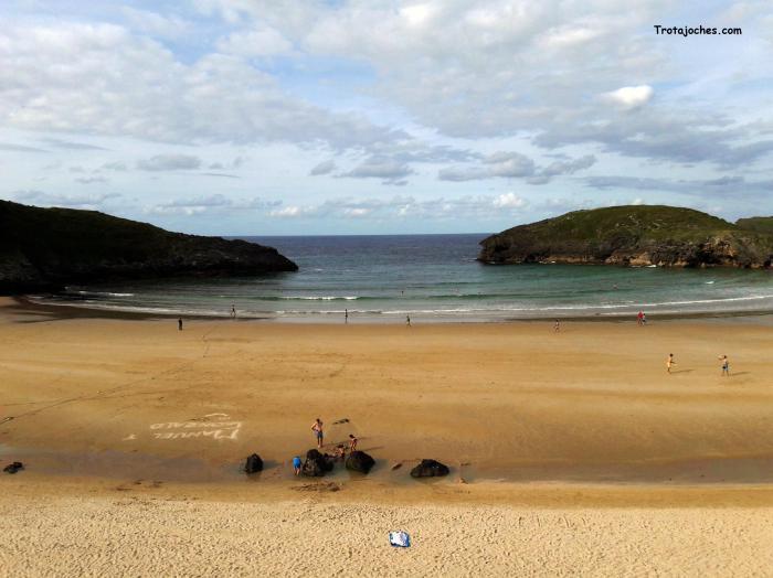 La playa del Silencio, en Asturias
