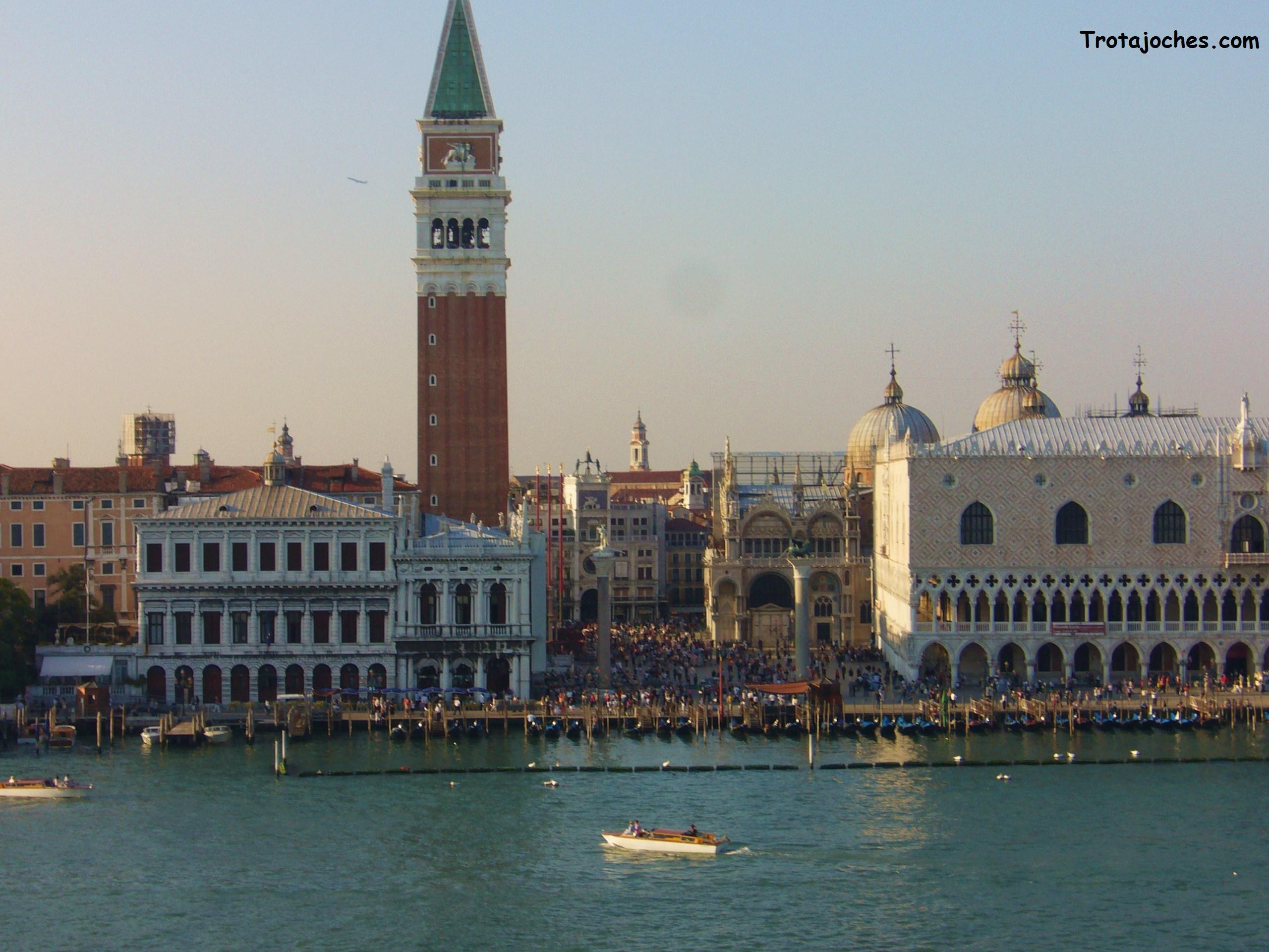 Venecia vista desde el otro lado del gran canal