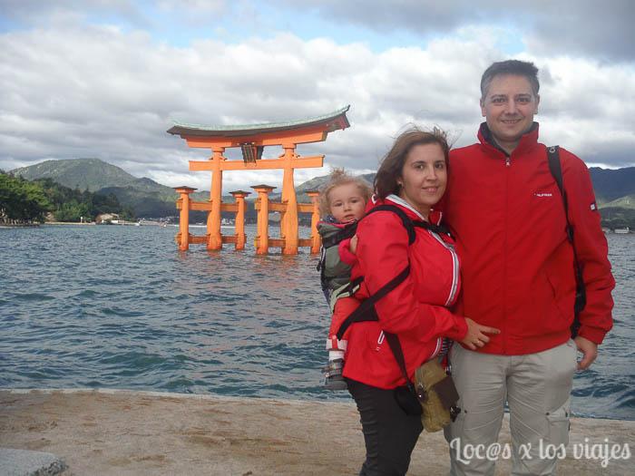 La familia de locos x los viajes en Japón