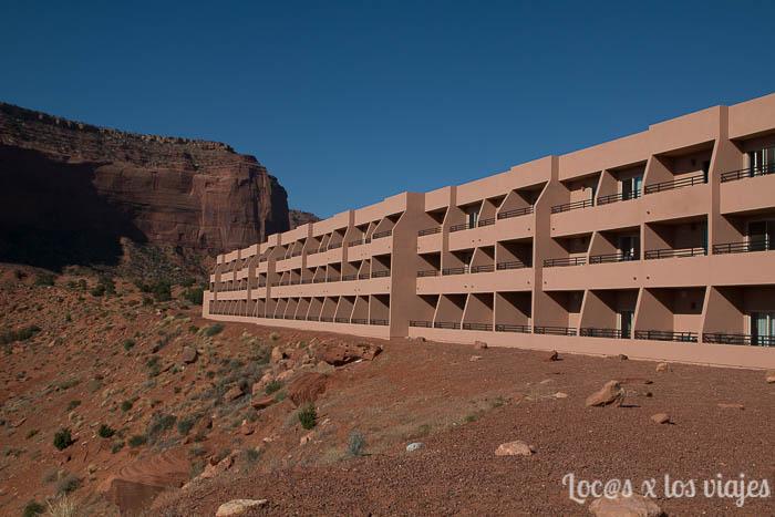 Hotel en Monument Valley