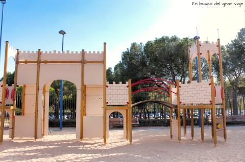 Puerta principal del castillo