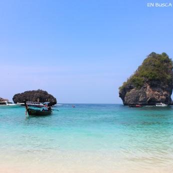 Playa paradisíaca de Phi Phi Don
