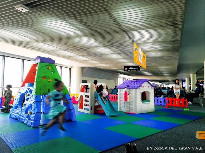 Zona de juegos del aeropuerto de Don Muang