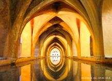 Una de las salas del Alcázar