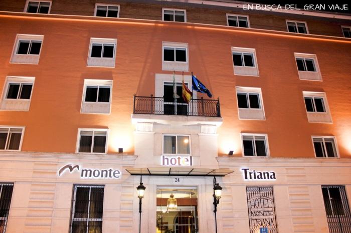 La fachada del Hotel Monte Triana