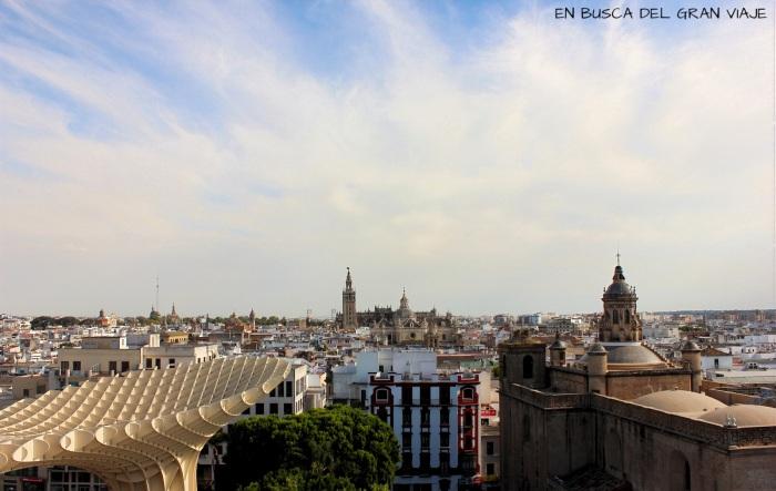 La Catedral vista dede lo alto del parasol