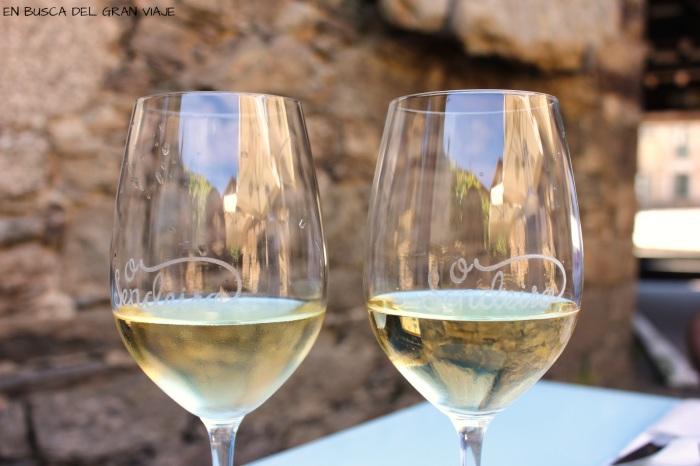 copas de vino de Godello