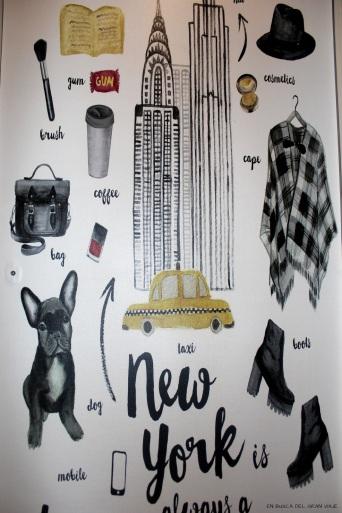 Cuadro de New York